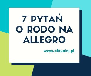 Rodo Na Allegro 7 Kwestii Najwazniejszych